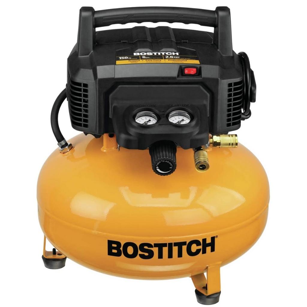 BOSTITCH-Pancake-Air-Compressor-Oil-Free-6-Gallon-150-PSI-BTFP02012