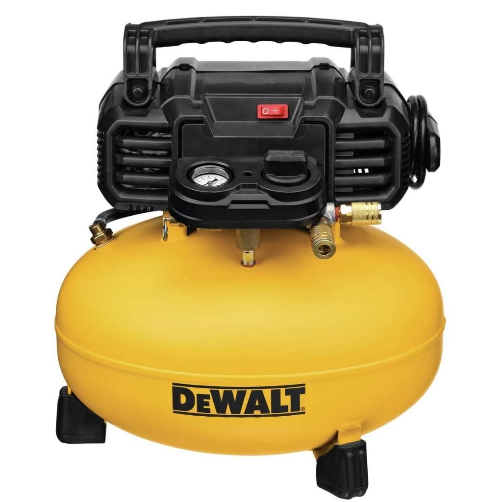 DEWALT 6 Gallon Pancake Air Compressor 165 PSI DWFP55126