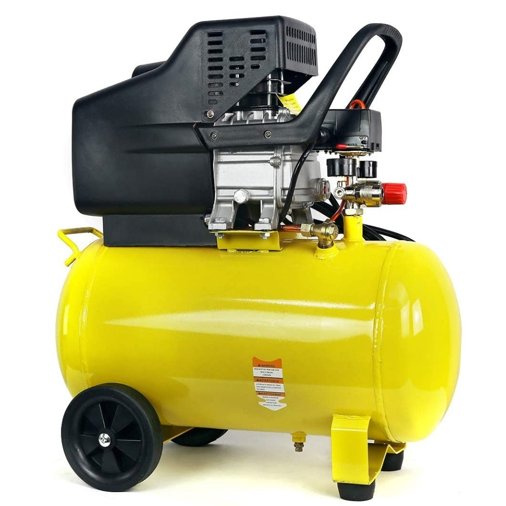 Stark Portable Quiet Air Compressor 10-Gallon Tank 3.5HP Air Compressor Ultra Quiet Compressor w/Wheel
